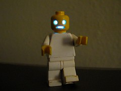 Leghoul (oskay) Tags: halloween make diy scary lego zombie craft creepy led howto undead hacking ghoul livingdead captionable emslhalloweenroundup