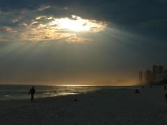 Suddenly Sun on the Beach