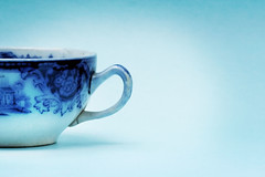 Teacup (Quixotic Pixels) Tags: china blue cup tea teacup quixoticpixelsutatafeature utatacupoftea