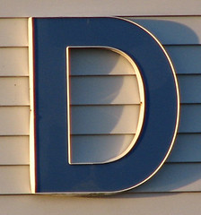 d letter alphabet oneletter (Photo: TooFarNorth on Flickr)