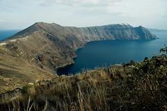 Mountains in Santorini