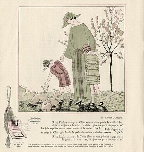 André Marty, Les Modes Elegantes, 1922