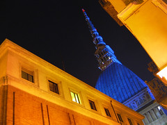 Blue Mole ([A25]) Tags: blue italy torino italia bureau blu united days un international travail unite labour mole turin organization oneyear bit nations onu itc nazioni giornate ilo antonelliana