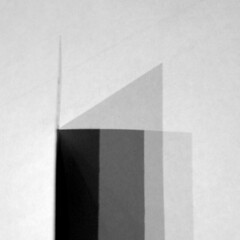 TWO ELEMENTS III: A4 + BOOKMARK (juanluisgx) Tags: shadow abstract spain sombra leon a4 abstracto folio elalbeitar utatathursdaywalk28