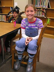 Pippi Longstocking (Old Shoe Woman) Tags: school costumes students reading books bookcharacters redribbonweek readathon yearbook2006 drugawareness