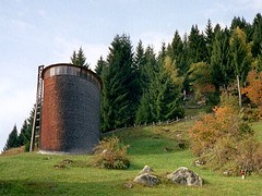 Sogn Benedetg church by Swiss architect Peter Zumthor