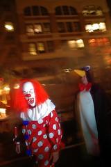 Scary Clown & Penguin