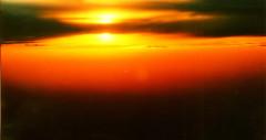 Inflight Sunset