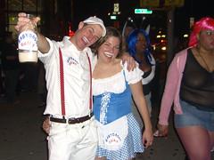 milkman and milkmaid mirka23 tags nyc halloween costume 2006 halloweenparade milkmaid milkman
