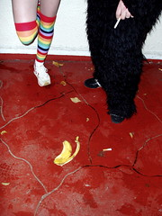 Halloween (mariko) Tags: sanfrancisco costumes halloween gorilla bananapeel rainbowbright