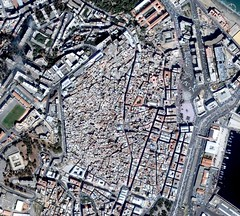 Google Earth : La Casbah d'Alger... (PointDZ) Tags: port square algeria google boulevard place earth mosquee palais 23 said algerie casbah martyrs bastion emir algiers dey placedesmartyrs lycee kebir rais  abdelkader ourida qsar meddad