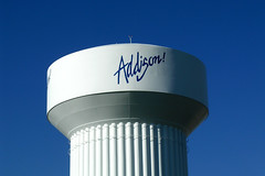 Addison! water tower (Alison Chains) Tags: texas watertower addison addisoncircle addisontx