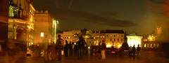 (jo.vanka) Tags: light sky people night poland polska krakow cracow abigfave