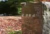 sans born (richietown) Tags: autumn cemetery grave graveyard leaves topv111 headstone tombstone mtauburn mountauburn richietown