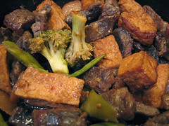short ribs and tofu (Kealoy) Tags: chinese leftovers