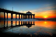 Reflections (J.H.C.) Tags: ocean sunset sea beach reflections topf50 bravo topv3333 topf100 topf200 3000v120f jhcphotography
