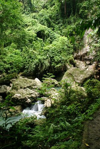Hagimit Falls by laz'andre.