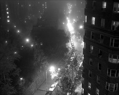 Fog at Night (Susan NYC) Tags: from street nyc newyorkcity roof light weather fog night dark lights darkness manhattan 200 m8 mp pp washingtonheights 501 ws frommyroof ontheroof castlevillage hsh fromtheroof roofwindow darknesslight leicam8 windowroof leicaelmarit28mmf28asph nohudson l1000501jpg