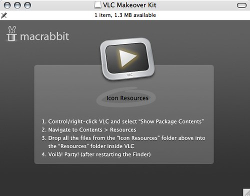 VLC Makeover Kit par Patrick Haney
