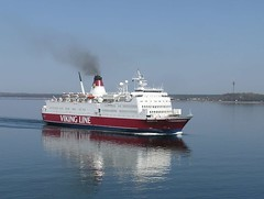 Viking Rosella car ferry, Tallinn (phototouring) Tags: ocean city cruise red sea white tower water lines ferry suomi finland town moving helsinki europe tallinn estonia finnland ship smoke ships north cities cruising vessel line passenger helsingfors finnish 1980 rosella towns ferries easteurope tvtower easterneurope cruises itmeri vessels eesti balticstates televisiontower estland tallinna estonian viro northerneurope vikingline suomenlahti cruiseferry cruiseferries