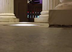 Look down (Veee Man) Tags: light architecture night lasvegas nevada ground strip caesarspalace pillars