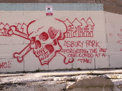 Asbury Park - Forgetting the Past One Condo At a Time! (Sister72) Tags: skull newjersey grafitti asburypark nj demolition casino monmouthcounty opinion