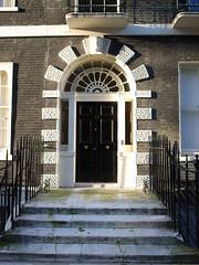 15 Bedford Square (stevecadman) Tags: door uk england brick london architecture unitedkingdom britain terrace architect doorway bloomsbury housing georgian 18thcentury c18 eighteenthcentury