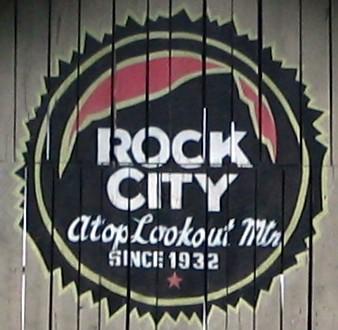 New Rock City logo on SeeROCKCITY.COM barn