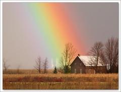 My Neighbor Under Rainbow (Renald Bourque) Tags: canada rainbow bravo searchthebest quality québec arcenciel iloveit stbarthélemy outstandingshots lefion abigfave world100f