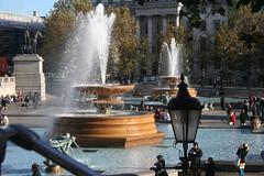 Fountain on Trafalgar (sanderbijl) Tags: november 2006 londen sander