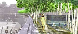 Future High Line Park