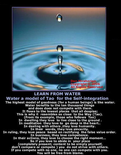 Water -The Model of the Ultimate Reality(Tao)/Apa -Modelul ...