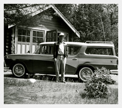 (Mr Dave Esmond) Tags: vacation station wisconsin wagon cigar grandpa rambler 1959 stationwagon montello