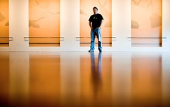 Self Portrait, November 2006 (Thomas Hawk) Tags: sanfrancisco california goldengatepark city usa selfportrait man reflection art topf25 deyoungmuseum museum standing studio see dance unitedstates 10 unitedstatesofamerica fav20 deyoung fav30 thomashawk fav10 fav25 fav40 superfave