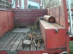 Random Crap (curbjumpinss) Tags: 1949 seagrave firetruck v12 eb66 emergency siren lights beacon scrapyard wreck junkyard rust crystal lake