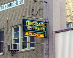 frigidaire appliances sign by day