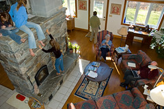"""""""Off the Grid"""" (Energy sufficiency in Southern Vermont) (roddh) Tags: green home island blog interestingness interesting nikon energy vermont raw d70s explore stove 100th acr recycle russian sustainable windpower reuse solarpower fourgenerations efficient offthegrid roddh nikonstunninggallery veryhighefficiencywoodheat energysufficiency radiantheatinginconcretefloors"""