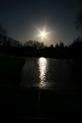 Star in the sky (J.W.L) Tags: sun fall jorn zon 1171 badhoevedorp herfts eos400d vierbuizenmeertje jornlucas jornspictures