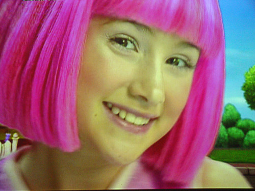 Lazy town stephanie arrested stephanie from lazytown 2013
