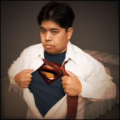 Day 62 : Superman! (arkworld) Tags: selfportrait manipulated photoshopped superman hero superhero parody tribute spoof 365 365days moodgood