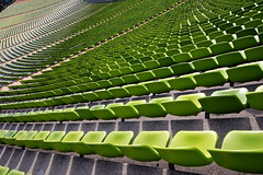München - Olympic Stadium - Green Seats
