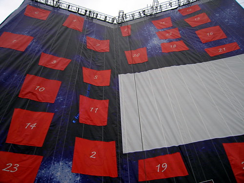 giant advent calendar