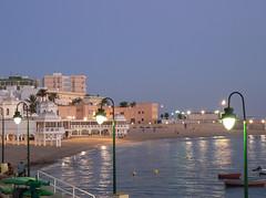 Cadiz shore at nightfall (chimico01) Tags: night tramonto cadiz cadice