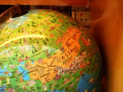 child 's globe