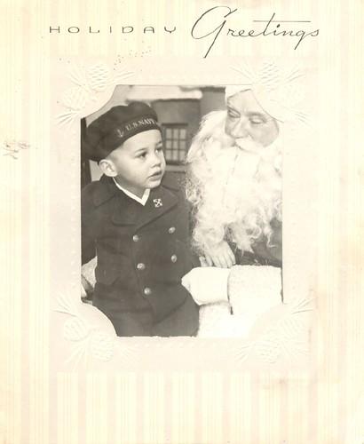 Vintage Photo Card
