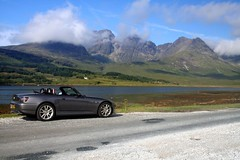 S2000 GT on Skye (BrianReid) Tags: skye scotland s2000 moonrock elgol s2000gt