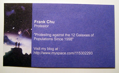 Frank Chu's Business Card (Telstar Logistics) Tags: frankchu businesscard 12galaxies