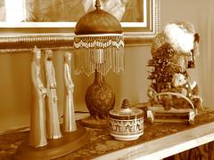 Christmas spirit decorations... (Fernando Cuevas) Tags: light bw color sepia julian puertorico experiment fernandocuevas