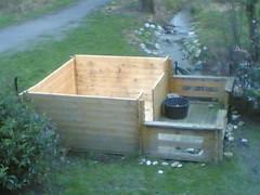 Gartenhaus ohne Dach