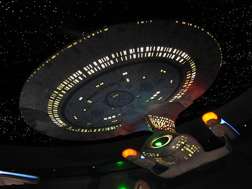 The Enterprise.... Yes, I went there. Image by Flickr user 'fusionpander', used under CC license.